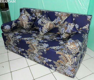 Sofa bed inoac motifbunga ashanti