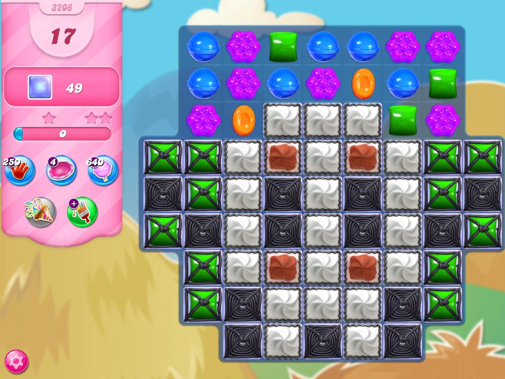 Candy Crush Saga level 3206