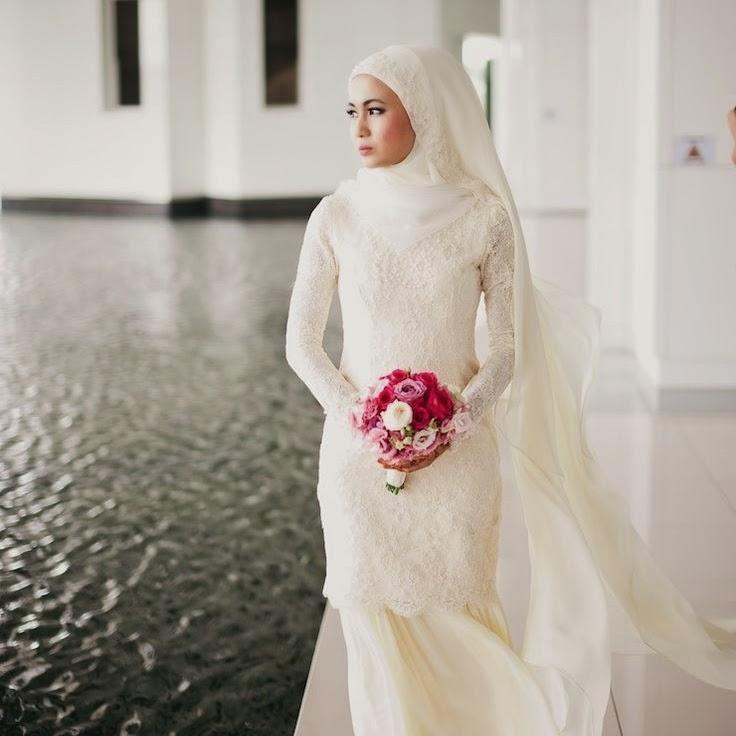 Wedding Nikah Simple Backdrop Decoration Muslim: Inspirasi : Hijab Simple Untuk Akad Nikah