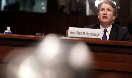 Chaos grips Senate hearing on Trump Supreme Court pick Kavanaugh