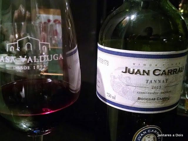 Vinho Juan Carrau Tannat 2013