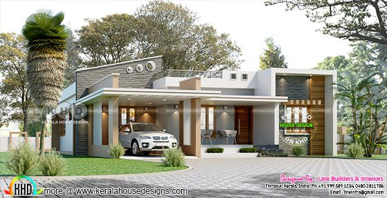 Contemporary style 3 bedroom single floor home