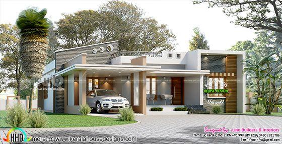 Contemporary style 3 bedroom single floor home