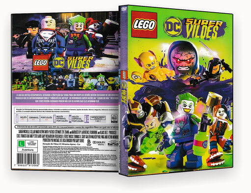 CAPA DVD – LEGO SUPER DC  2018 – ISO
