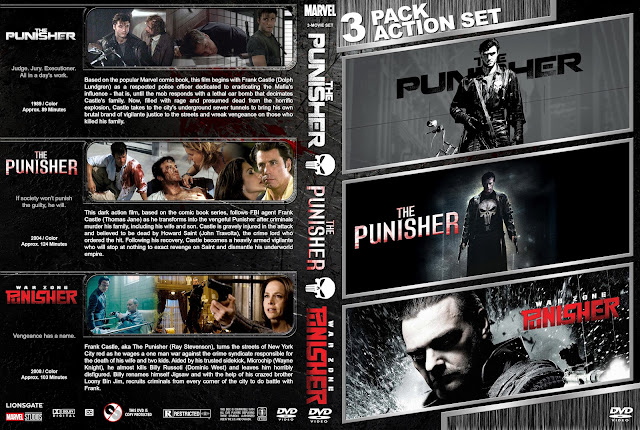 The Punisher Triple Feature DVD Cover