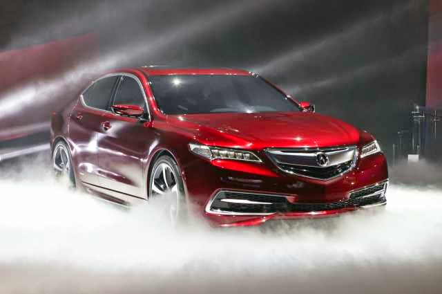 2018 Voiture Neuf 2018 Acura TLX date de sortie, Prix, Photos, Revue, Concept