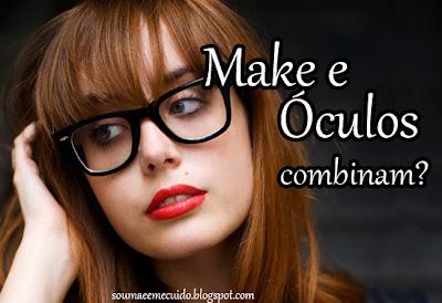 Tapete Vermelho  Maquiagem com óculos, pode  697b0fade9