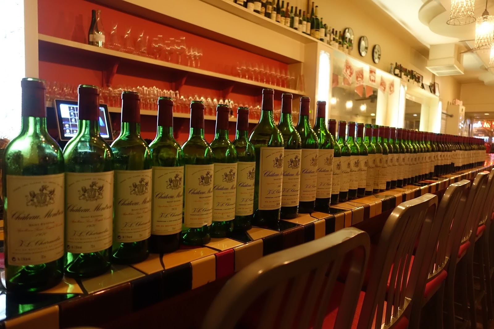 Schiller wine massive ch teau montrose vertical with for Chateau montrose