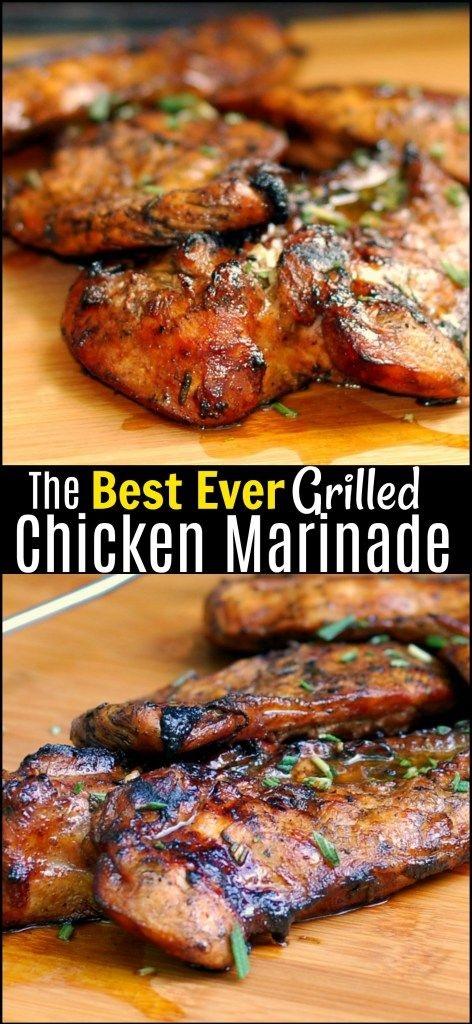 The Best Ever Grilled Chicken Marinade