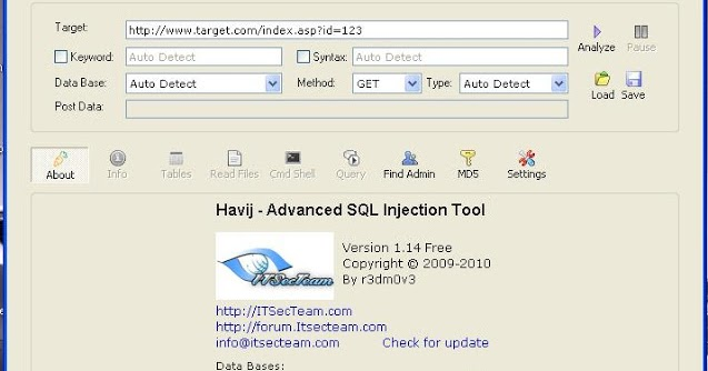 Sql Injection Tool Get Cc Cvv - vipsoft-ozsoft