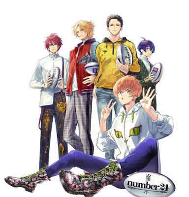"""Anime: Primera imágen de """"Number24"""" el próximo anime de rugby"""