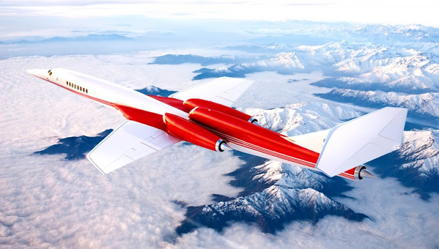 20 firm orders to Aerion supersonic business jet for delivery in about 2023 so the wealthy 0.1% will fly twice as fast as others