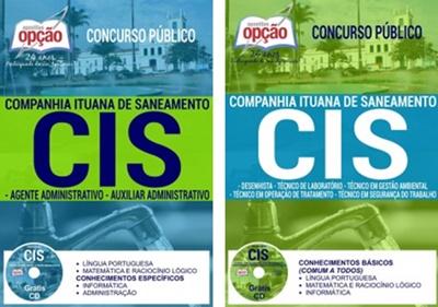 Apostila concurso CIS Itu-SP 2017