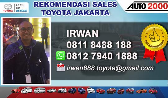 Rekomendasi Sales Tunas Toyota Pecenongan Jakarta Pusat