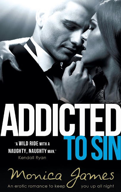 ADDICTED TO SIN by MONICA JAMES IS LIVE!!!
