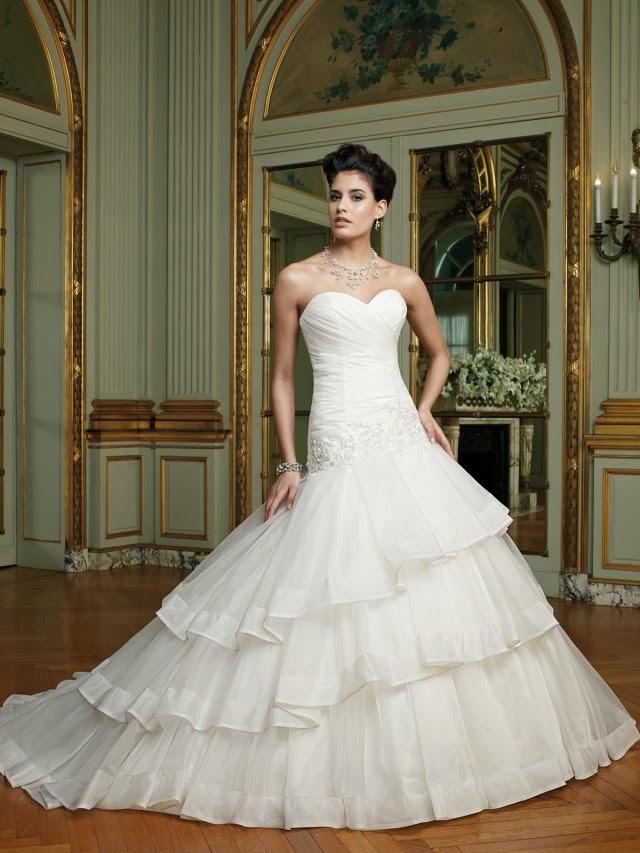 Magníficos vestidos de novia colección David Tutera 2014 | Vestidos ...