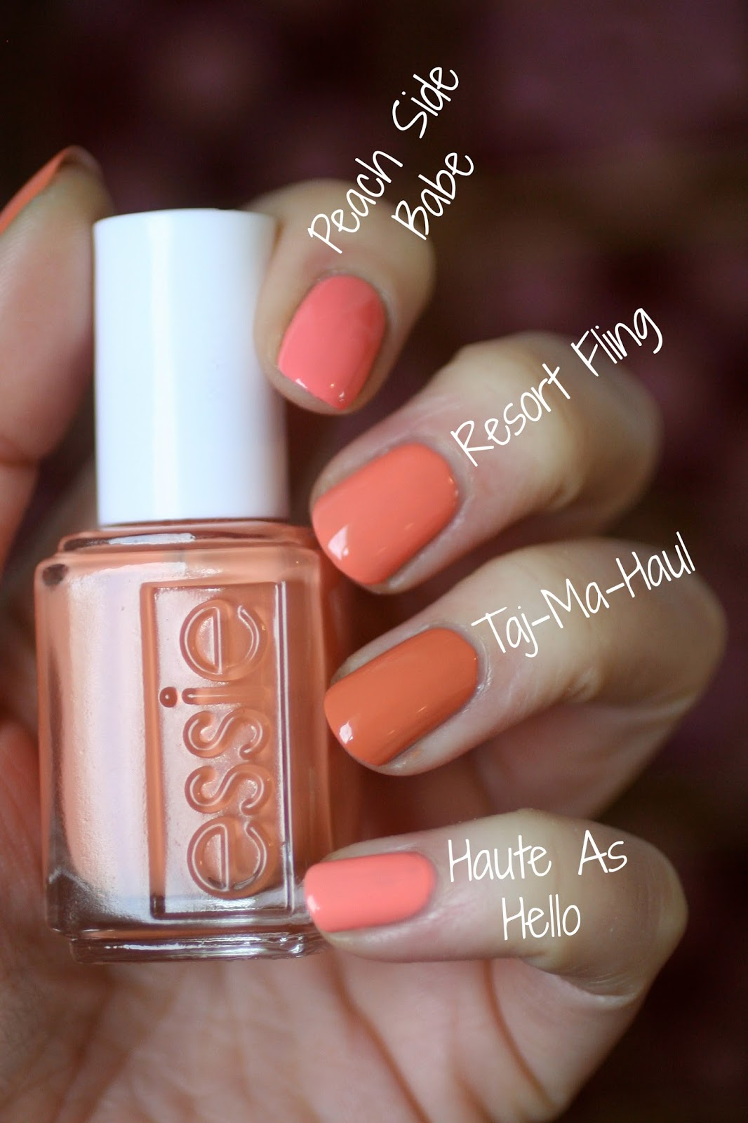 Essie Resort 2016 Collection - Going Guru : Review & Comparisons ...
