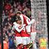 Com dois de Aubameyang, Arsenal vence o Stoke City