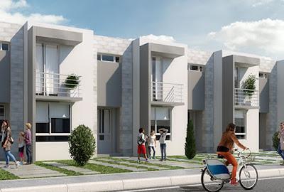 fachada moderna de casa altair residencial