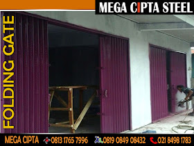 Jual Folding Gate Roling Door Folding Door PVC Murah Jakarta Depok ...