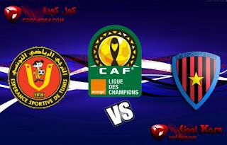 مباراة الترجى التونسى و دي اوجوستو مباشر