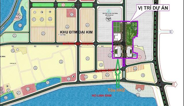Mặt bằng quy hoạch dự án ECO LAKE VIEW