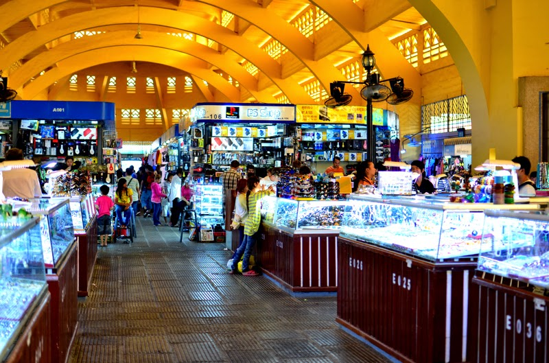 Chợ PhSa-Th-Mây (chợ Mới) Phnôm pênh Campuchia