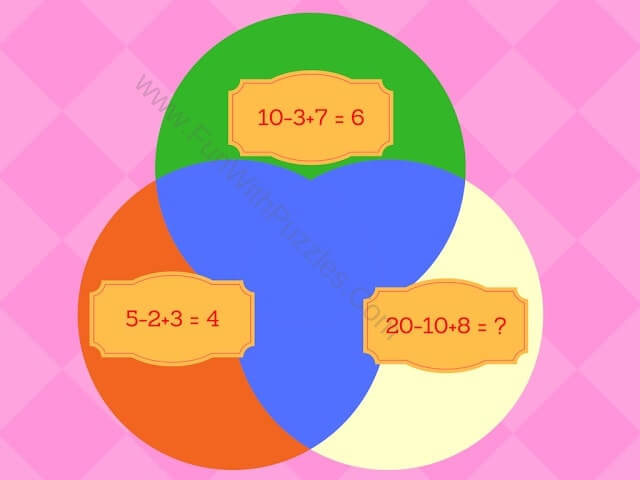 Mathematics Equations Circle Picture Puzzle-3