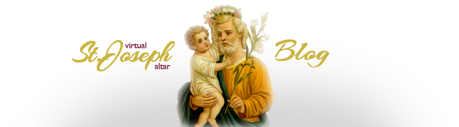 Virtual St. Joseph Altar BLOG