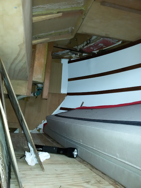 Damage caused by deck leaks