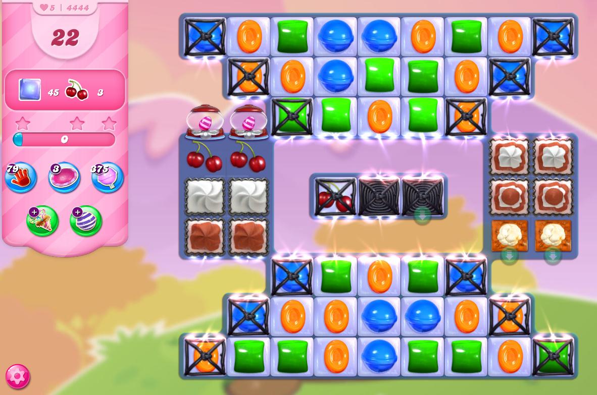 Candy Crush Saga level 4444