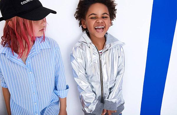 MODA 2018: camisas y canguros primavera verano 2018 ropa para niñas.