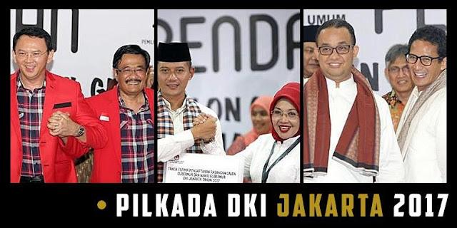 Pasangan Cagub-Cawagub DKI Jakarta