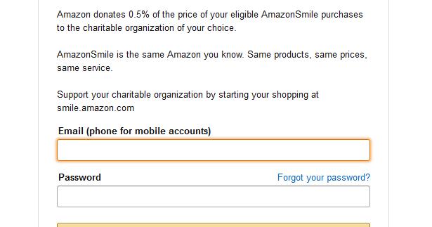 Signing up for AmazonSmile ~ Association of Nepali ...