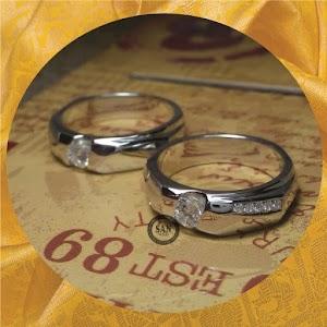 cincin paladium perak p5285