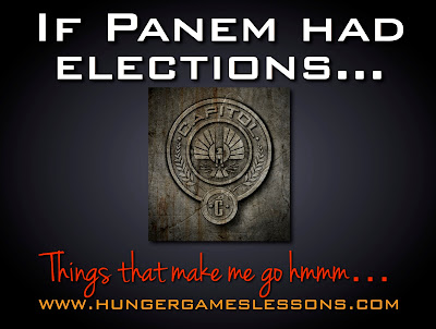 Panem Elections Government www.hungergameslessons.com
