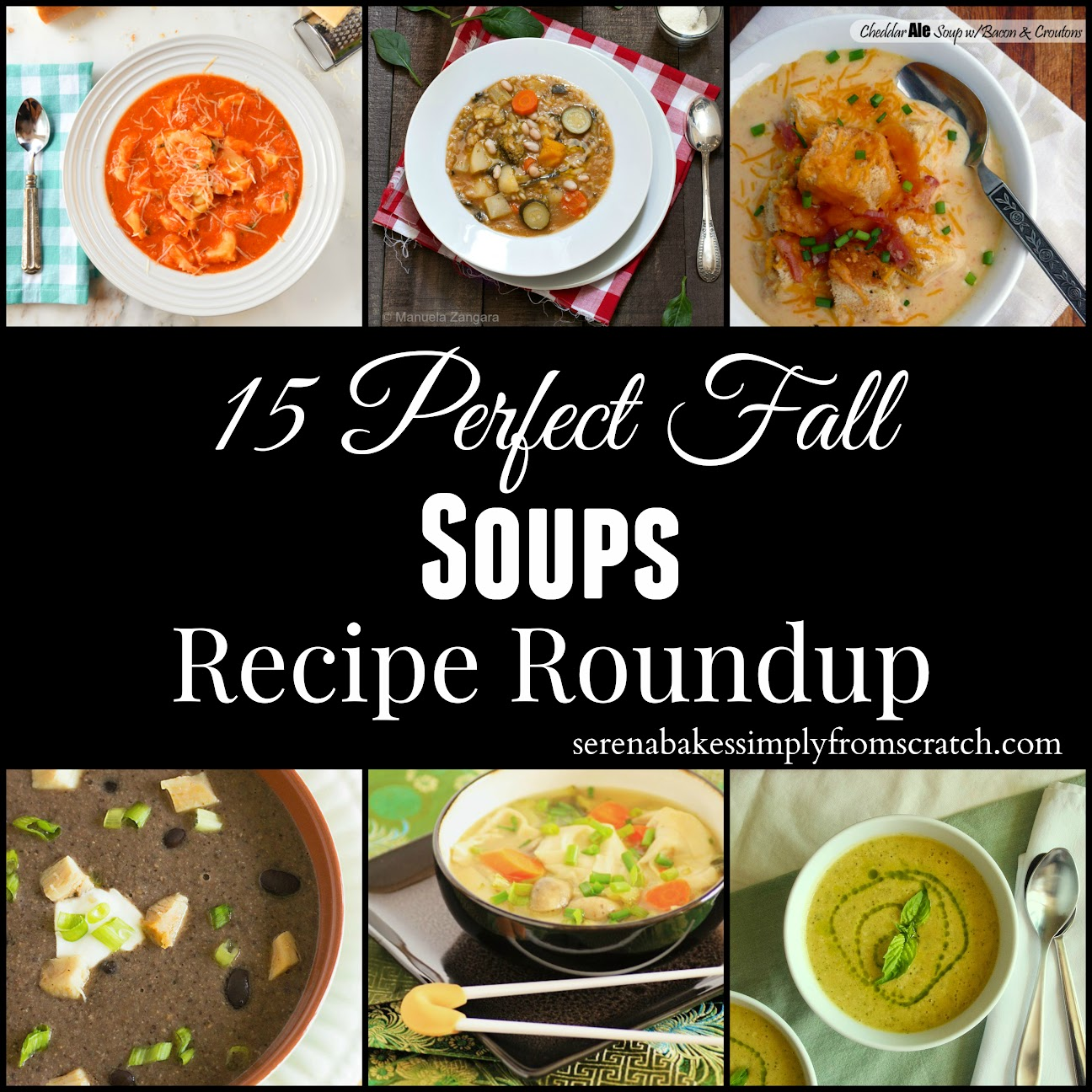 15 Perfect Fall Soups Recipe Roundup