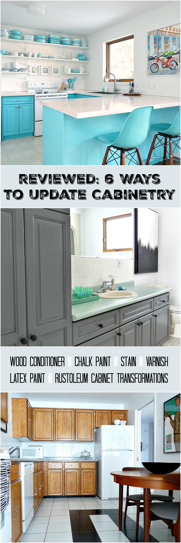 Cabinet Refinishing 101 Latex Paint vs Stain vs RustOleum
