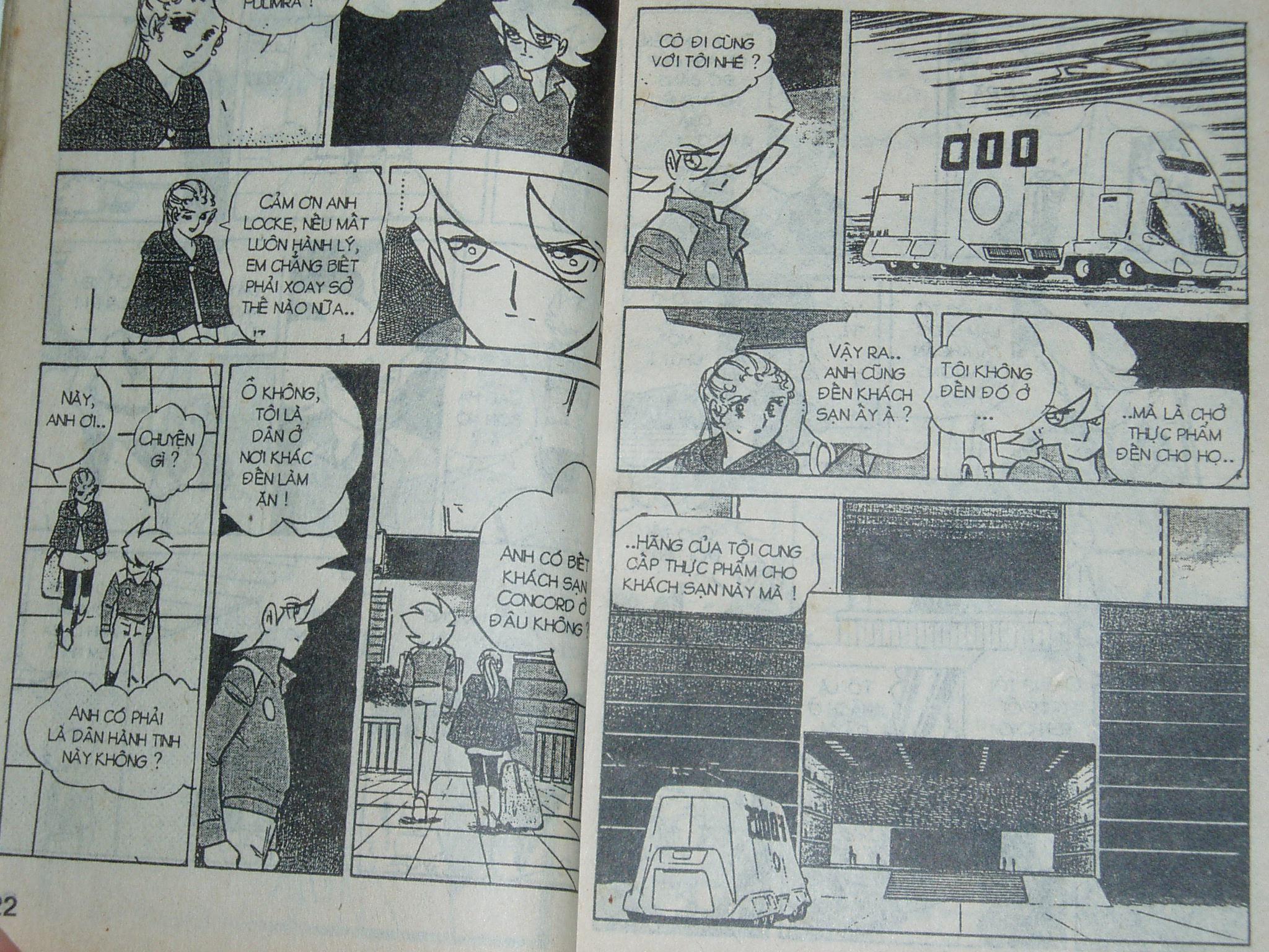 Siêu nhân Locke vol 16 trang 10