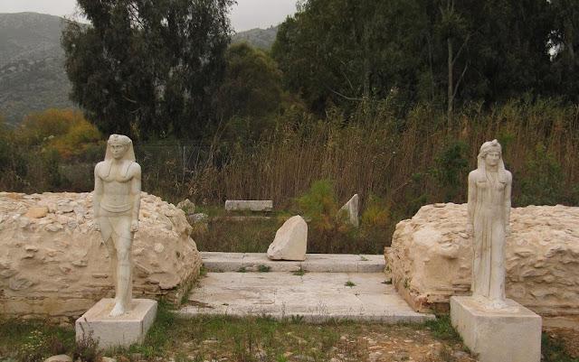 Ιερό Αιγυπτίων θεών στον Μαραθώνα