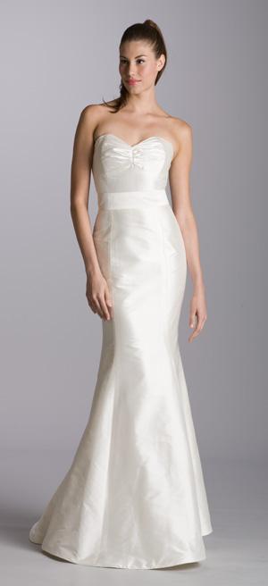 Silk Shantung Gown Gazar Wedding