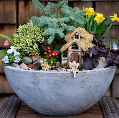 Create Your Own Fairy Garden!