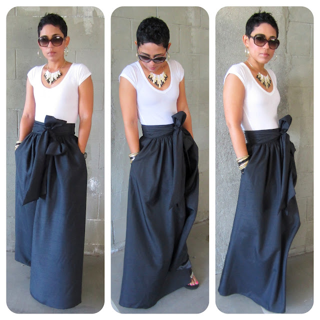 Monday April 2 2012 Sewing Pattern Maxi Skirt