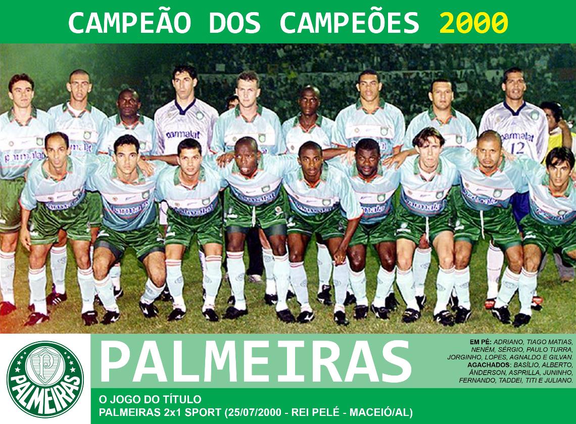 3bf7eb0c2d ... tirava mais a vitória do Palmeiras. O resultado de 2 a 1 deu um título  inédito e único ao clube