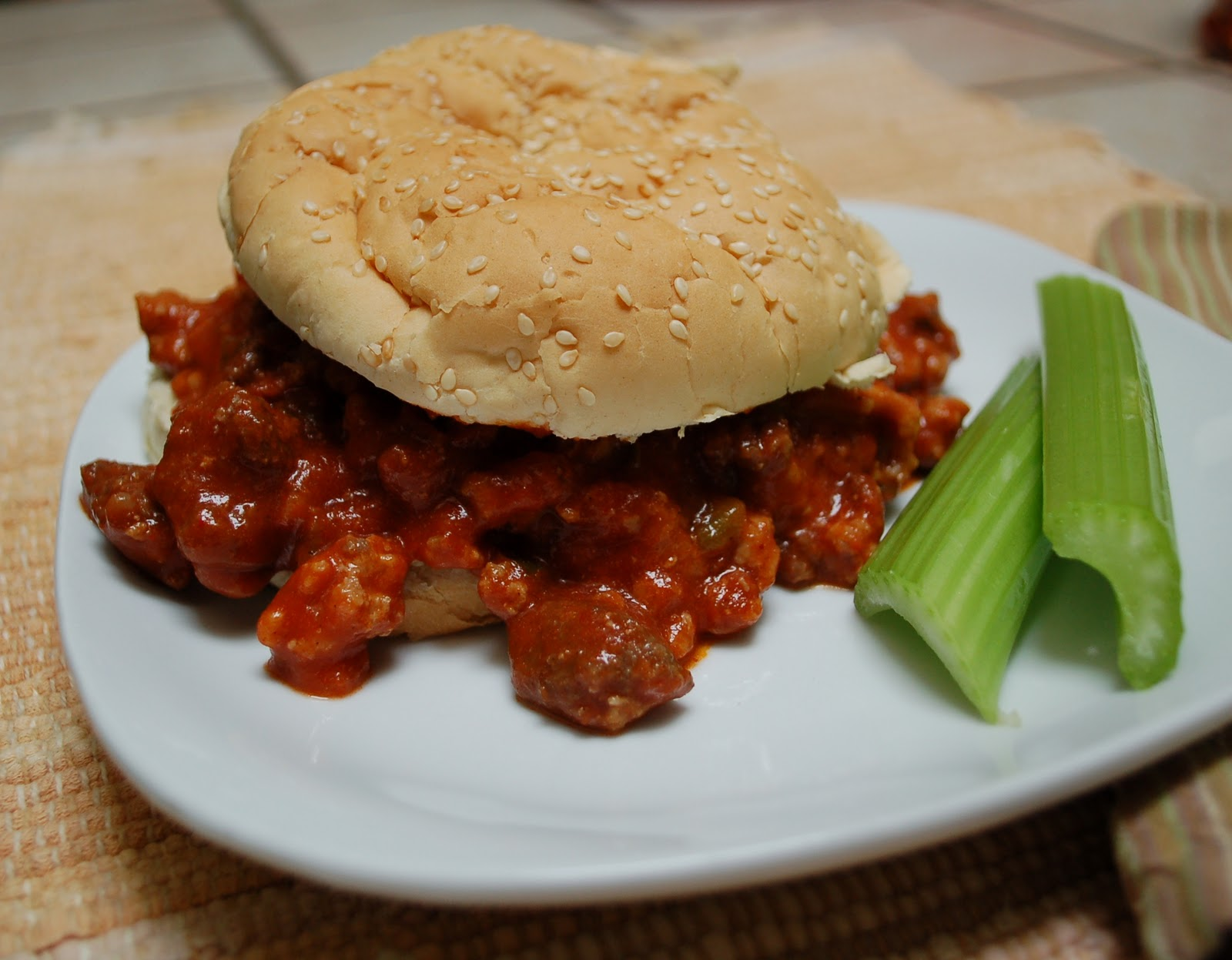 The Spice Garden: Venison Sloppy Joes