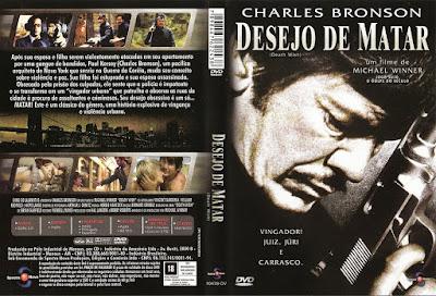 Filme Desejo de Matar (Death Wish) DVD Capa