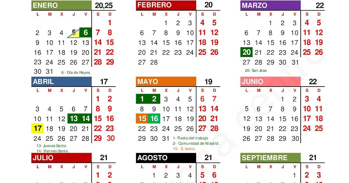 Calendario Laboral De La Construccion.Comite Acciona Centro Calendario Laboral 2017 Construccion Madrid