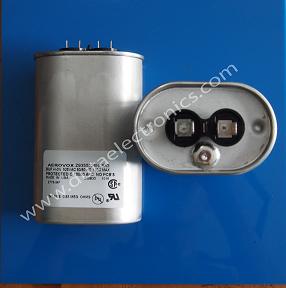 Jual Capacitor Aerovox 26UF 525 Volt Terlengkap Baru Original Harga Terbaik