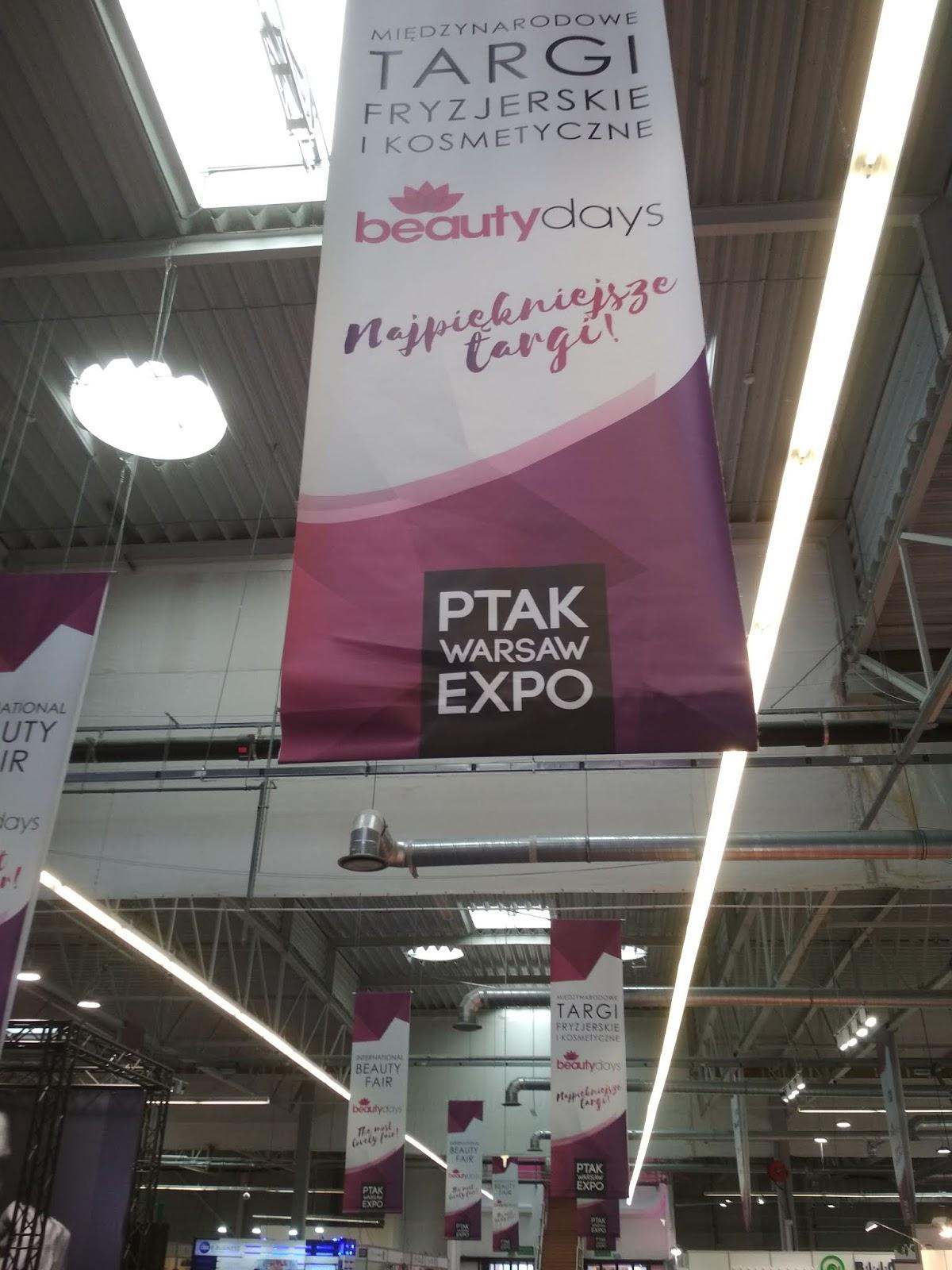 wydarzenia, relacja, targi beauty days, beauty days blogger, beauty days 2018, nadarzyn, ptak expo