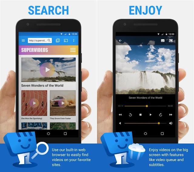 web video cast browser to tv premium apk